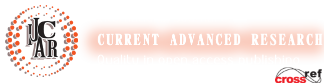 International Journal of Current Advanced Research | International